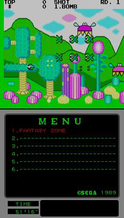 Fantasy Zone [Mega-Tech] (ARC)  © Sega 1989   1/1
