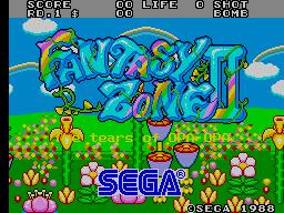 Fantasy Zone II [Mega-Tech] (ARC)  © Sega 1989   1/3