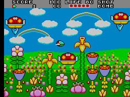 Fantasy Zone II [Mega-Tech] (ARC)  © Sega 1989   2/3
