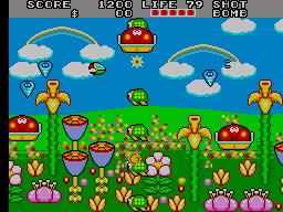 Fantasy Zone II [Mega-Tech] (ARC)  © Sega 1989   3/3