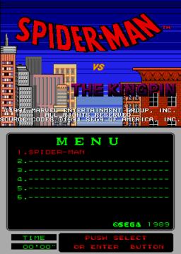 Spider-Man Vs. The Kingpin (ARC)  © Sega 1991   1/3