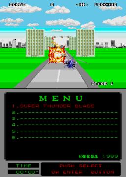 Super Thunder Blade (ARC)  © Sega 1989   2/2