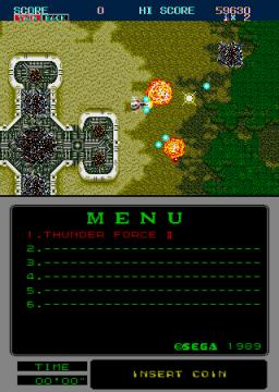 Thunder Force II (ARC)  © Sega 1989   2/2