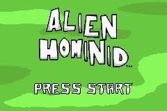 Alien Hominid (GBA)  © Zoo Games 2006   1/3