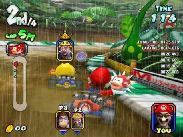 Mario Kart Arcade GP (ARC)  © Namco 2005   4/5