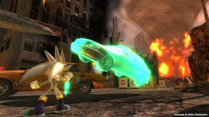 Sonic The Hedgehog (2006) (X360)  © Sega 2006   4/6