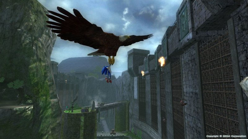 Sonic The Hedgehog (2006) (X360)  © Sega 2006   6/6
