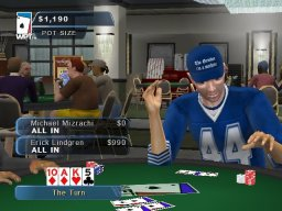 World Poker Tour (XBX)   © 2K Sports 2005    2/6