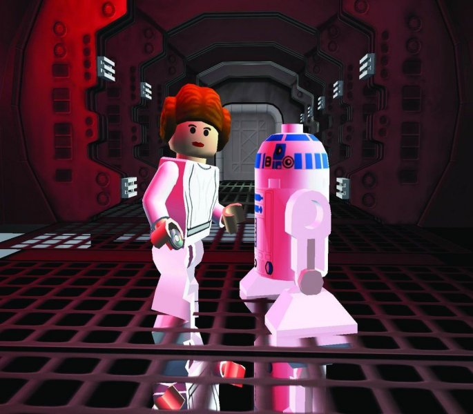 Lego Star Wars II: The Original Trilogy (PS2)  © LucasArts 2006   5/6