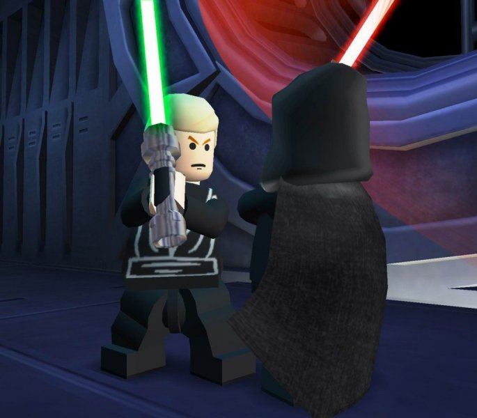 Lego Star Wars II: The Original Trilogy (PS2)  © LucasArts 2006   6/6