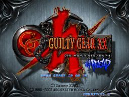 Guilty Gear X2 #Reload (ARC)   © Sammy 2003    1/3