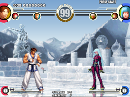 The King Of Fighters XI (ARC)  © SNK 2005   2/3
