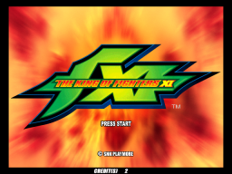 The King Of Fighters XI (ARC)  © SNK 2005   1/3