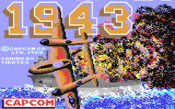 1943: The Battle Of Midway (C64)  © GO! 1988   1/2