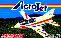 Acro Jet (PC88)  © SystemSoft 1988   1/2