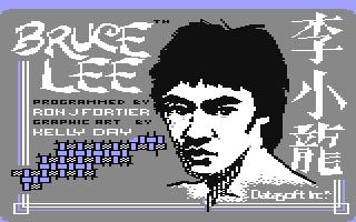 Bruce Lee (C64)  © U.S. Gold 1984   4/4
