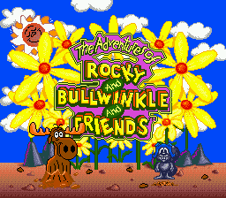 The Adventures Of Rocky And Bullwinkle And Friends (SMD)   © Absolute 1995    1/3