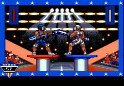 American Gladiators (SMD)  © GameTek 1992   2/2