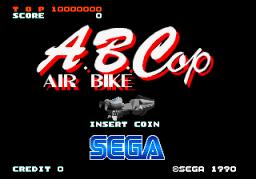 A.B.Cop: Air Bike (ARC)  © Sega 1989   1/3