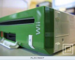 Nintendo Wii Development Kit (Green and White)  © Nintendo 2006  (WII)   1/5