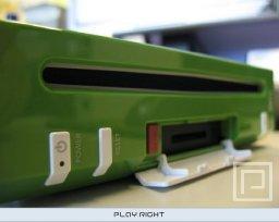 Nintendo Wii Development Kit (Green and White)  © Nintendo 2006  (WII)   4/5