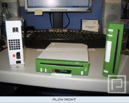 Nintendo Wii Development Kit (Green and White)  © Nintendo 2006  (WII)   5/5