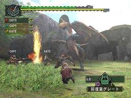 Monster Hunter G (PS2)  © Capcom 2005   5/6
