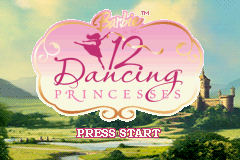 Barbie In The 12 Dancing Princesses (GBA)   © Activision 2006    1/3