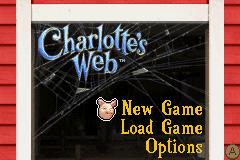 Charlotte's Web (GBA)  © Sega 2006   1/3