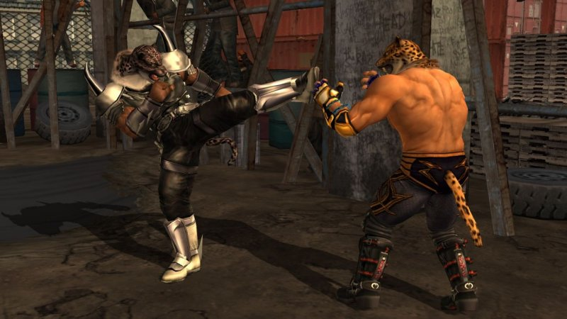 Tekken 5: Dark Resurrection (PS3)   © Bandai Namco 2006    4/6