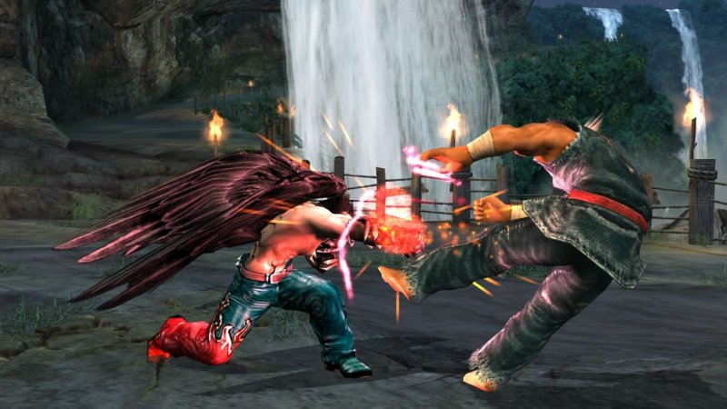 Tekken 5: Dark Resurrection (PS3)   © Bandai Namco 2006    5/6