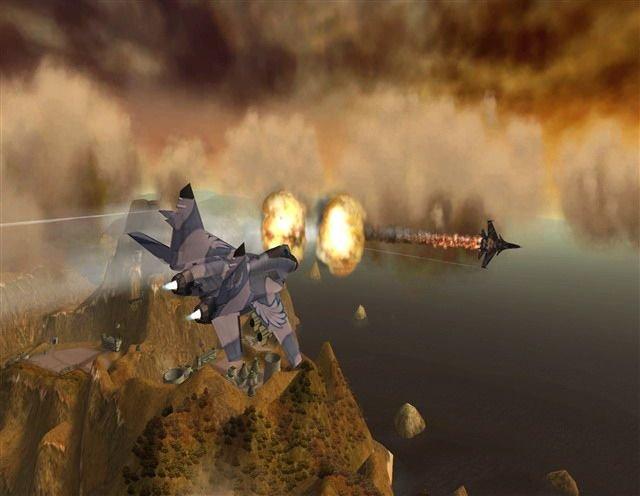 Heatseeker (2007) (WII)  © Codemasters 2007   4/6