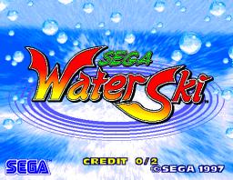 Sega Water Ski (ARC)  © Sega 1997   1/2
