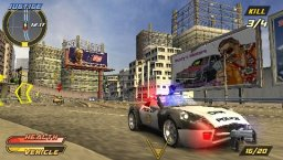 Pursuit Force: Extreme Justice (PSP)  © Sony 2007   1/3
