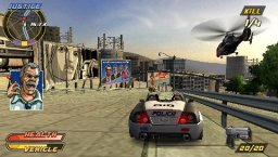 Pursuit Force: Extreme Justice (PSP)  © Sony 2007   3/3