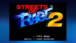 Streets Of Rage II (X360)  © Sega 2007   1/3