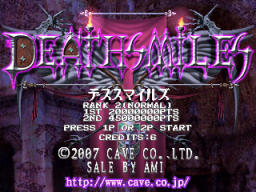 DeathSmiles (ARC)  © Cave 2007   1/4