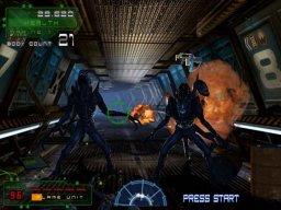 Aliens: Extermination (ARC)  © Global VR 2006   2/3