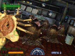 Aliens: Extermination (ARC)  © Global VR 2006   3/3