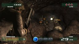 Time Crisis 4 (PS3)  © Namco 2007   3/4