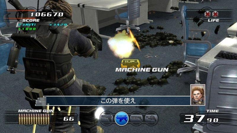 Time Crisis 4 (PS3)  © Namco 2007   4/4