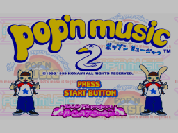 Pop'n Music 2 (DC)   © Konami 1999    1/1