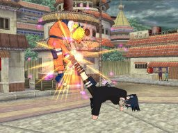 Naruto: Clash Of Ninja: Revolution (WII)   © Tomy 2007    2/3