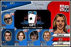 World Poker Tour (GBA)  © 2K Sports 2005   2/3