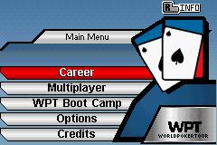 World Poker Tour (GBA)  © 2K Sports 2005   3/3