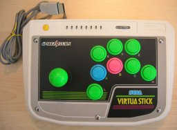 Virtua Stick [HSS-0136] (SS)  © Sega    1/1