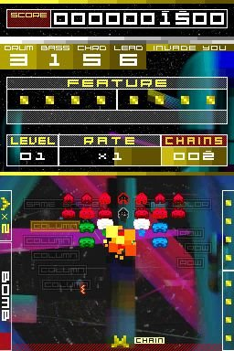 Space Invaders Extreme (NDS)   © Taito 2008    3/7