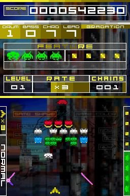 Space Invaders Extreme (NDS)  © Taito 2008   4/7