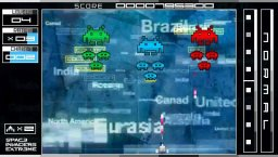 Space Invaders Extreme (PSP)  © Taito 2008   2/9