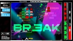 Space Invaders Extreme (PSP)  © Taito 2008   3/9